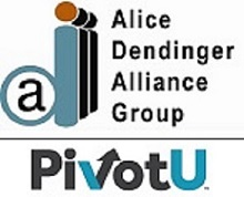 Alice  Dendinger Alliance Group and PivotU company logos