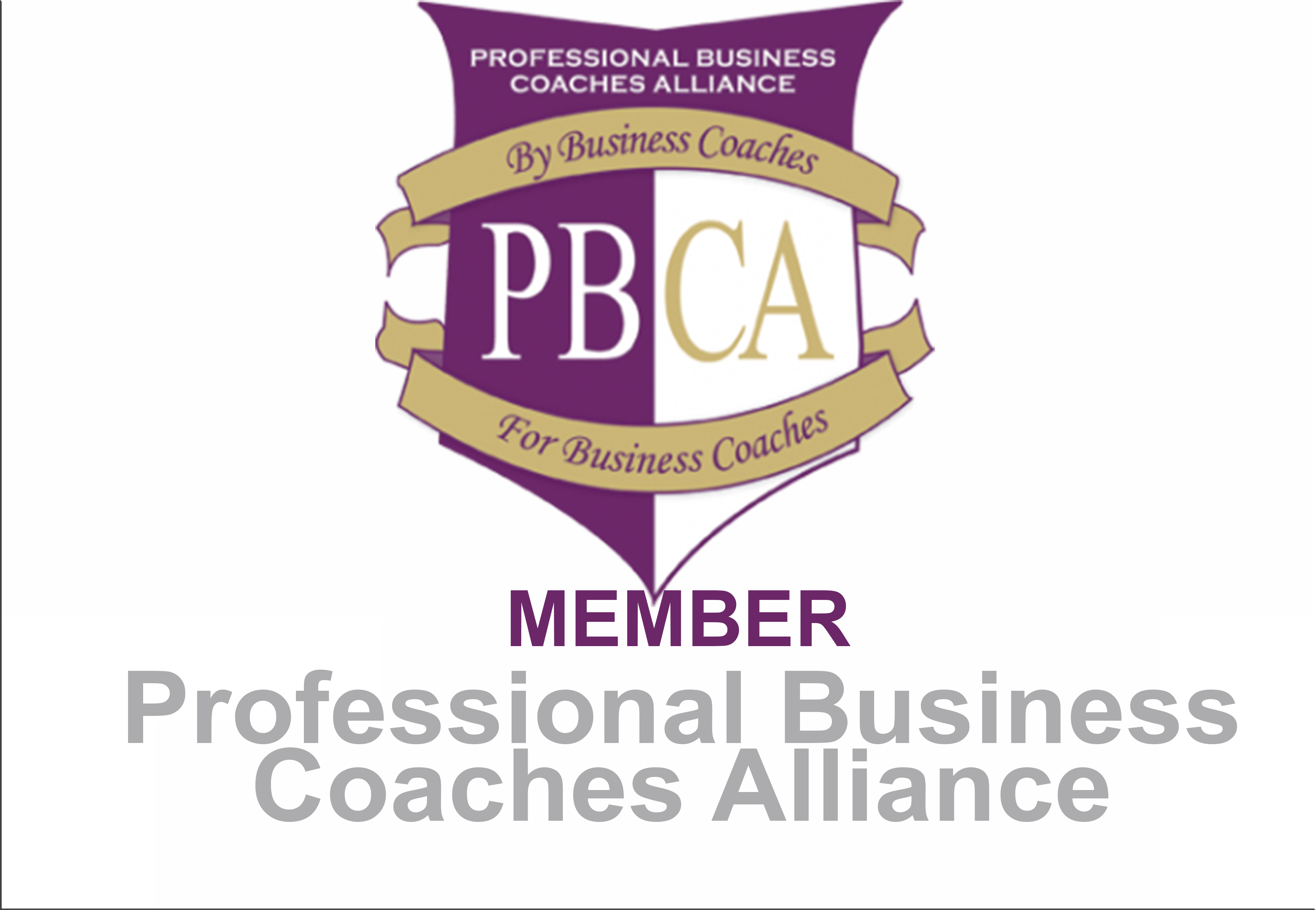 Member of Professional Business Coaches Alliance