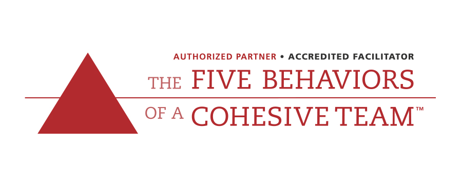 Five Behaviors of a Cohesive Team Authorized Partner logo