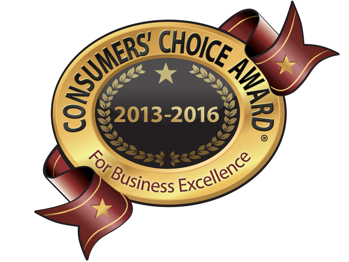 Consumers' Choice Award for Business Excellence