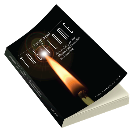 Author, Nurturing the Flame: How to Carry on Your Mission from Generation to Generation