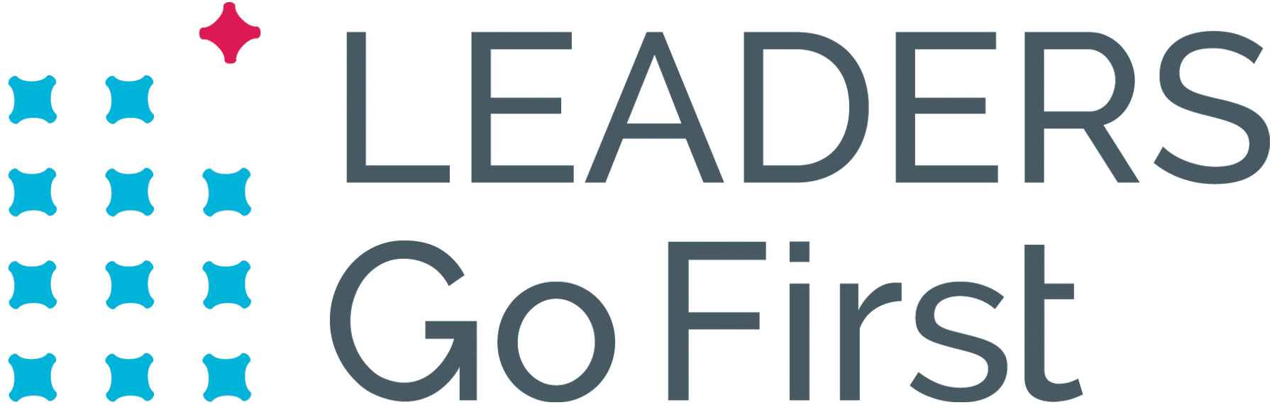 Leaders Go First Logo