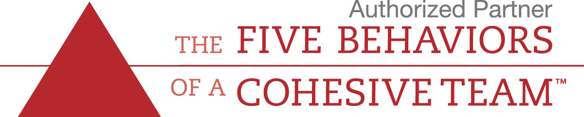 The Five Behaviors of a Cohesive Team Logo