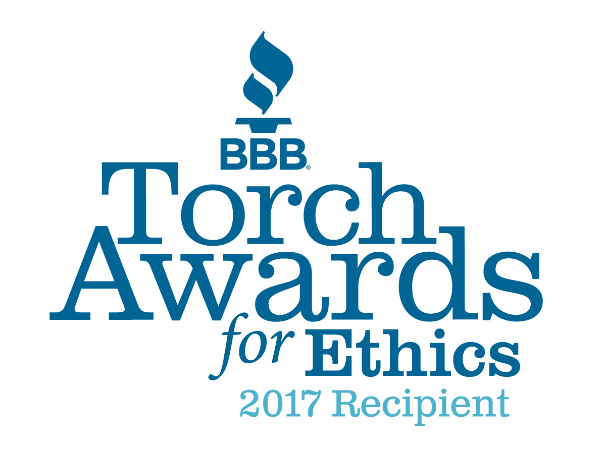 2017 BBB Torch Award for Ethics Recipient