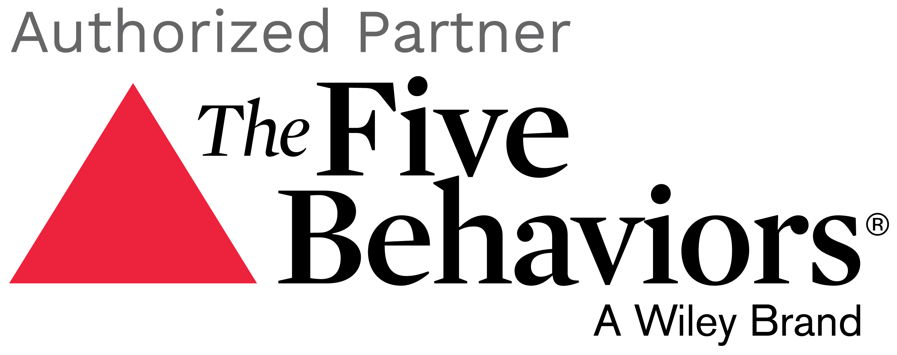 Authorized Partner of The Five Behaviors of a Cohesive Team®