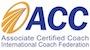 Certified Coach with International Coach Federation